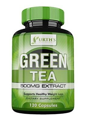 Green Tea Extract Supplement with EGCG - 120 Day Supply -