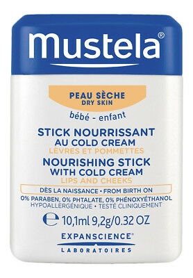 Mustela Nourishing Stick with Cold Cream .32 oz. Baby Skin Care Product