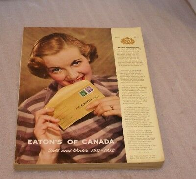 1951-52 Eaton's Fall & Winter Catalogue Clothes, Toys, Watches, Mid-Century&More