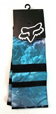 Fox Icy Knee High Sock Teal mix color print 12067 176  []
