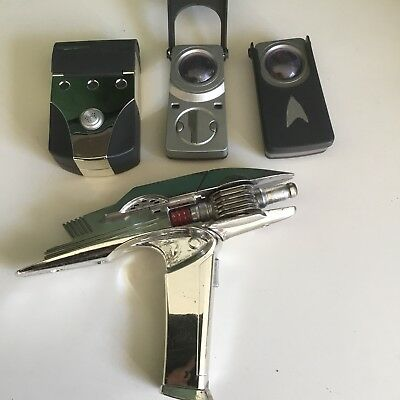 Star Trek Away Team Set, Phaser, Tricorder, Communicator