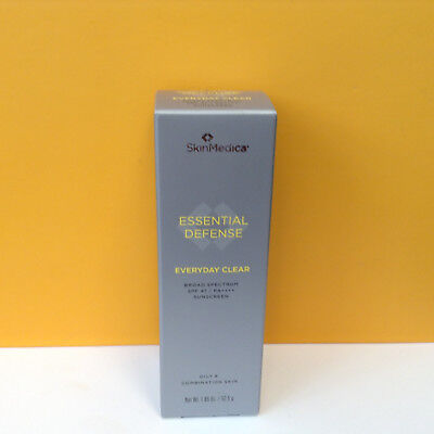 SkinMedica Essential Defense Everyday Clear Sunscreen SPF 47, 1.85 oz  EXP04/19