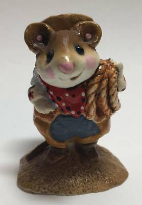 "Wee Forest Folk ""Rope Em Mousey"" 1981 M-108 **READ CAREFULLY**"