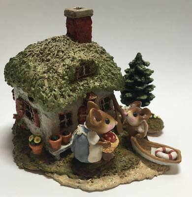 "Wee Forest Folk ""A Cottage For All Seasons"" ""Spring Cottage"" 2004 M-311a"