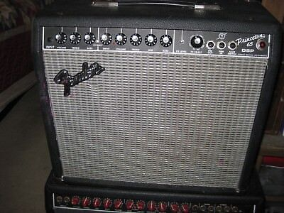 FENDER PRINCETON 65 DSP Guitar Amp Tested Good Condition
