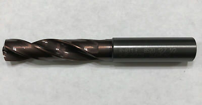 """New Coolant Thru Solid Carbide Drill 12.7Mm (.500"""")"""