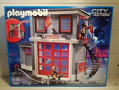 PLAYMOBIL 5981 - City Action Feuerwehr Station