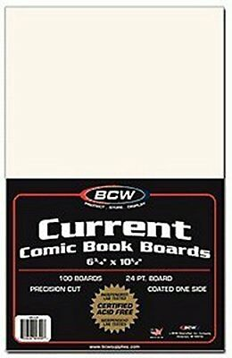 BCW Diversified Current Backer Boards, 100 Piece