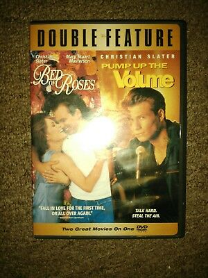 Bed of Roses / Pump Up the Volume (DVD) set Christian Slater Double feature