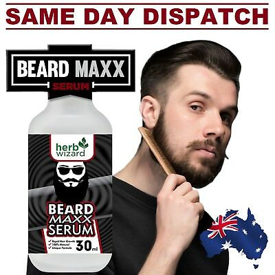 Premium BEARD Growth Hair Treatment Oil MUSTACHE BEARD AUS STOCK FAST SHIPPING!