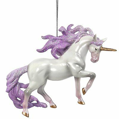 TRAIL OF PAINTED PONIES - Unicorn Magic - Christmas Ornament - Resin