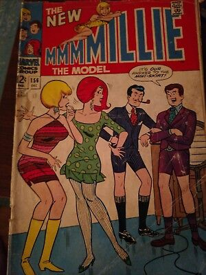 Millie The Model #156 1967-Marvel-classic cover-Chili appears-G