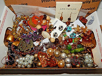 Vintage lot of untested/unknown Jewelry chicos style and more styles #10