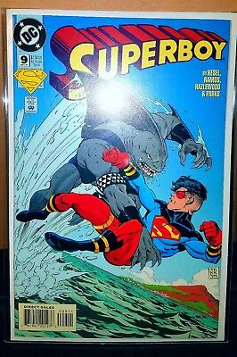 """**Superboy #9** SUICIDE SQUAD MOVIE! CW! 1st """"FULL"""" APPEARANCE Of KING SHARK! NM"""