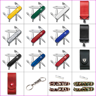 💗 Victorinox Tinker, Pouches, Scales, Keyring Coupling For Tinker