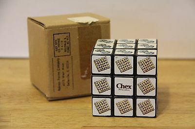 Vintage Ralston Purina CHEX Mail-A-Way Promotional Rubics Cube Type Toy