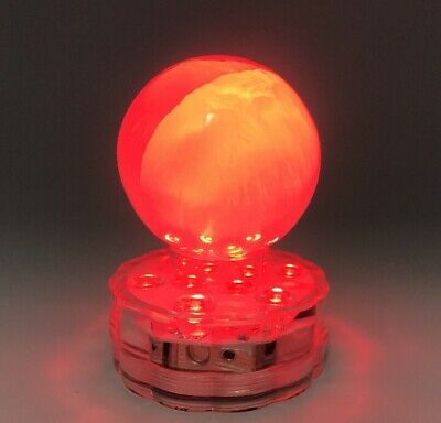 Selenite Sphere Lamp - Colour Changing - Natural Selenite From Morocco