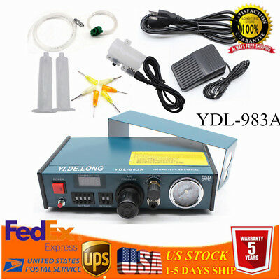 Digital Display Solder Paste Glue Dropper 983A Liquid Auto Dispenser Controller