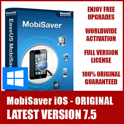 EaseUS iPhone Data Recovery Professional for Windows - Latest Version ORIGINAL