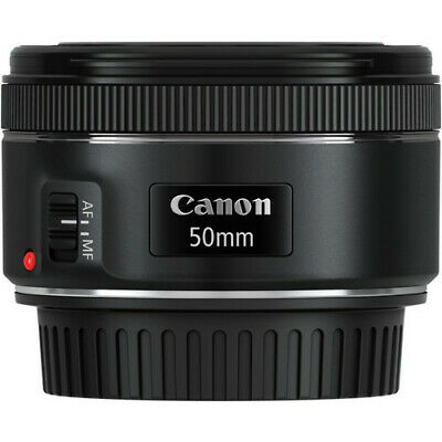Canon EF 50mm F/1.8 STM Camera Lens with AUST CANON WARRANTY
