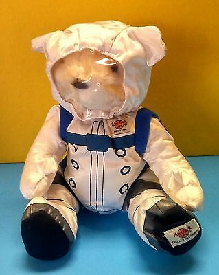Rare Hard Rock Cafe Houston Astronaut Nasa Plush Limited Edition Herrington Bear