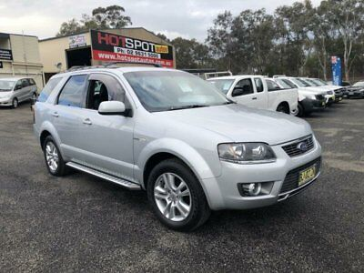 2010 Ford Territory SY Mkii TS Silver Automatic A Wagon