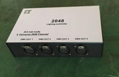 Stage Lighting DMX512 to ArtNet Network console Stage Lights Controller 2048CH