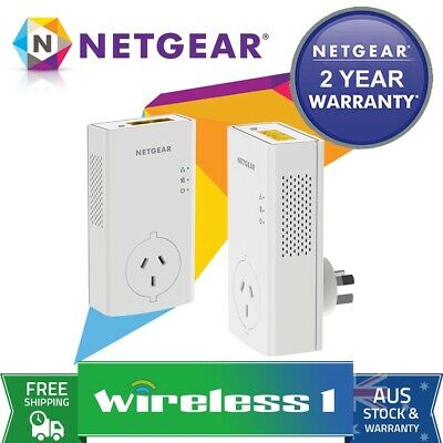 Netgear PLP2000 Pass thru Powerline 2000 Set (2x PLP2000)