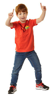 New - The Wiggles - Kids Simon Red Costume T-Shirt - T-Shirt - ABC Shop