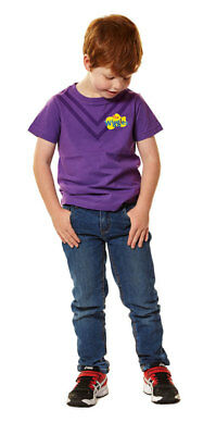 New - The Wiggles - Kids Lachy Purple Costume T-Shirt - T-Shirt - ABC Shop