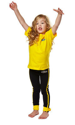 New - The Wiggles - Kids Emma Yellow Costume T-Shirt - T-Shirt - ABC Shop