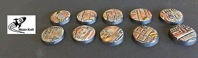 Sci Fi Scenic Resin Bases Warhammer 40K, space marines.