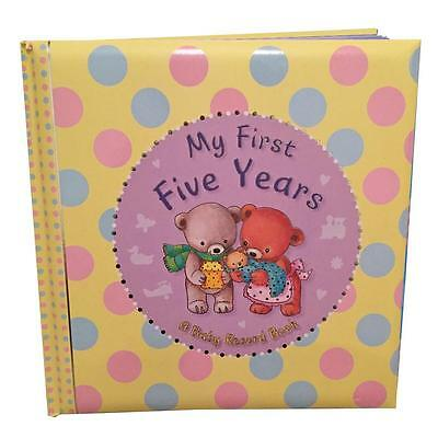 "Baby Record Book; Baby Keepsake Diary; ""My First Five Years"""