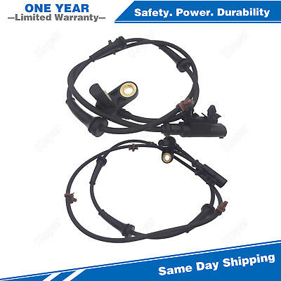 2PCS Rear ABS Speed Sensor ALS622 ALS619 For 2005-2006 Nissan Altima 2.5L 3.5L