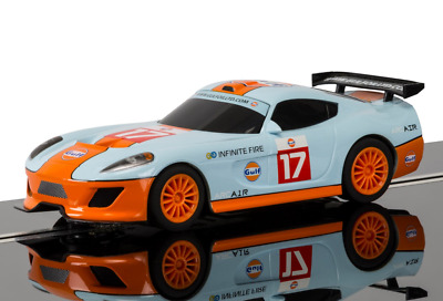 Scalextric C3840 GT Lightning GULF No4 Super Resistant New Boxed