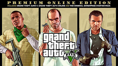Grand Theft Auto V 5 Steam Game (PC) - Europe ONLY -