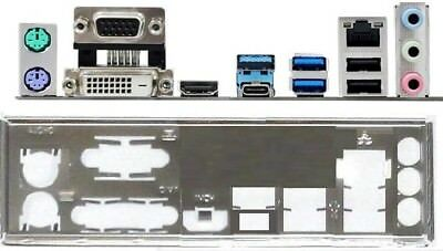 ATX Blende I/O shield ASRock B250M/Pro4 #1091 io shield NEU backplate Pro 4 new