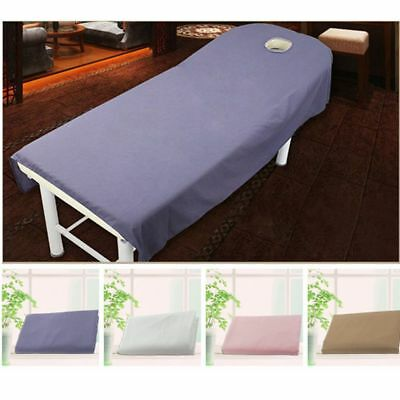 190 x 75cm Beauty Massage Towelling Bed Table Cover Salon Spa Couches Sheets