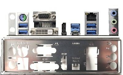 ATX Blende I/O shield ASRock B250 Pro4 #1092 io shield NEU backplate Pro 4 new