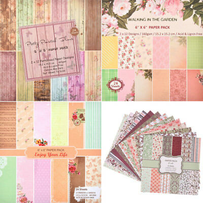 12 Styles DIY Making Paper Pads Card Making Craft Scrapbooking Christmas Letters