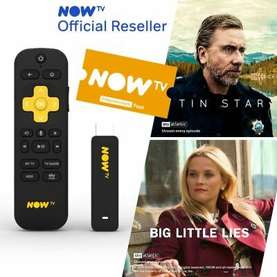 NOW TV Smart Stick with HD & Voice Search - 2 Month Entertainment PRE-INSTALLED