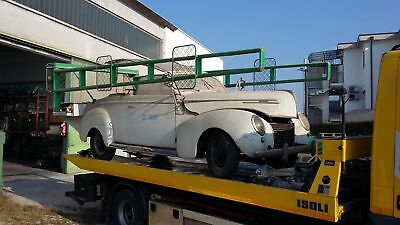 Mercury Eight convertible 1939, Burn find