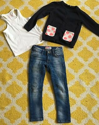 Vingino  Jeans, Cos Strickjacke, Zara Top Gr.104