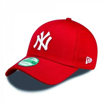 New Era Cap 9FORTY League Basic NY Yankees Scarlet/White Kids Youth