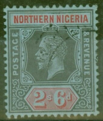 Northern Nigeria 1912 2s6d Black & Red-Blue SG49 V.F.U