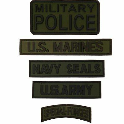 3D Rubber Patch Navy Seals Military Police U.S. ARMY U.S. Marines Special Forces