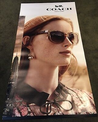 Coach Glasses Advertisment Poster (collectible)