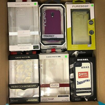 (RV446) JOBLOT of 42 x Mixed Covers & Cases for Various Mobiles / Smart Phones