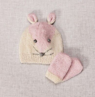 Twilleys - Knitting Kit - Mouse Hat & Mitts - Pink - 2898/4036