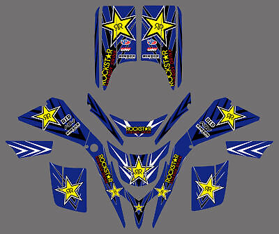 Background Graphic Decal For Yamaha BLASTER YFS200 YFS 200 1988-2006 2004 2005